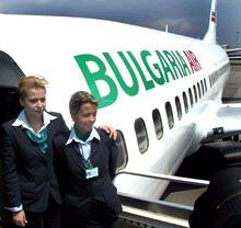 bulgaria air flight attendant