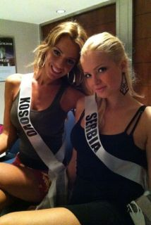 miss kosovo and miss serbia
