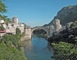 bridge mostar bosnia