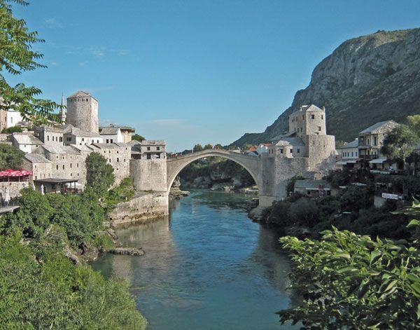 Video City Tour in Mostar Bosnia Herzegovina Mostar Information