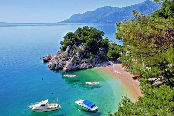 makarska croatia beach
