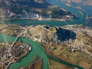 rozafa castle shkodra albania