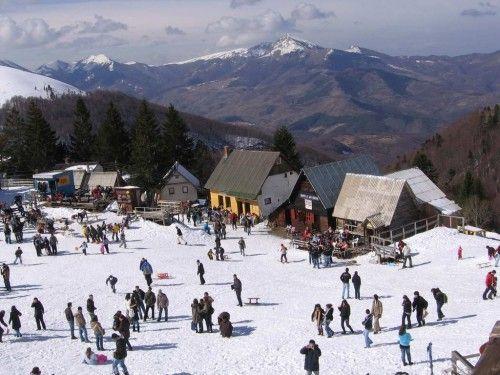 brezovica station ski kosovo