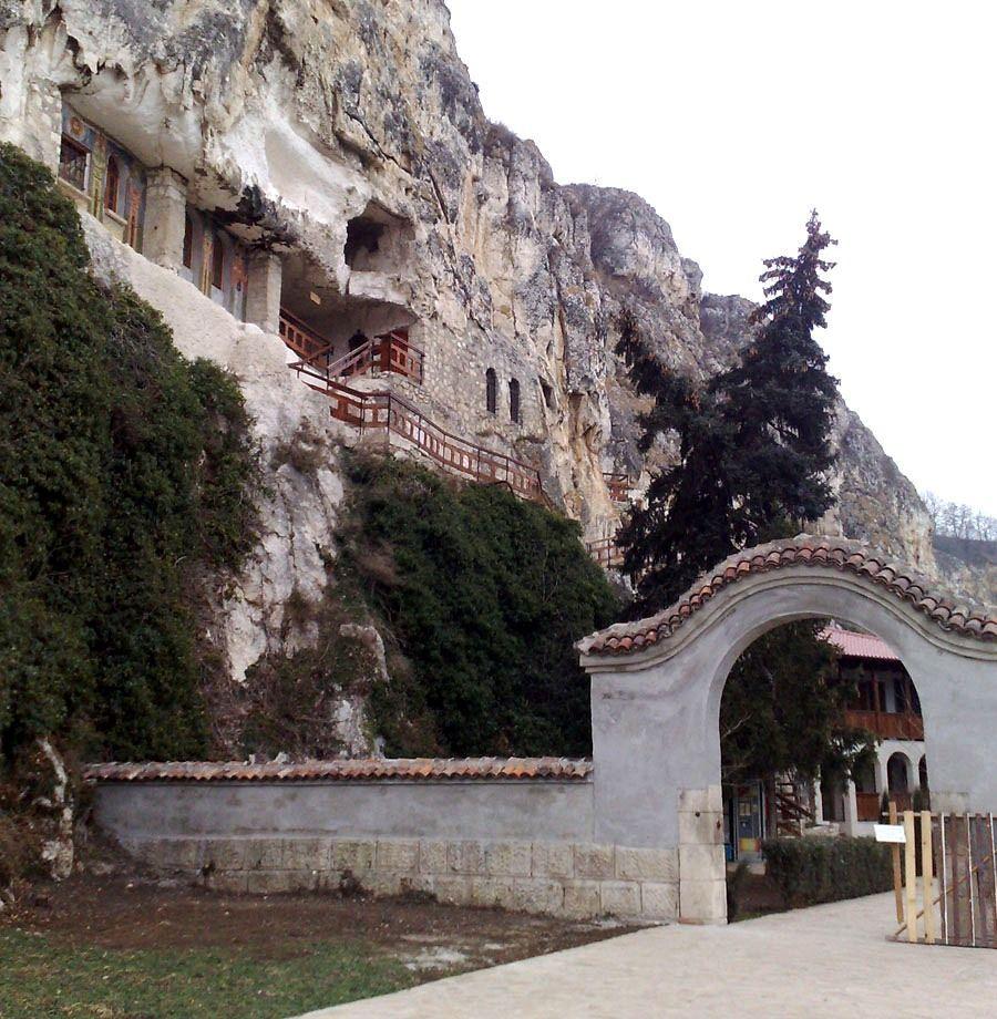 rock monastery basarabov bulgaria