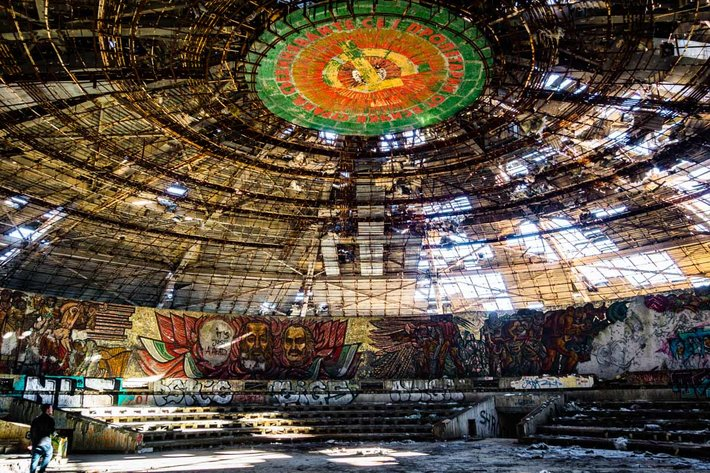 inside buzludzha bulgaria ufo