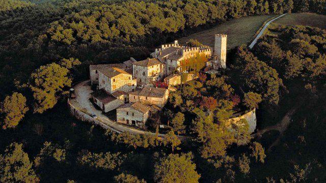 Castello di Montalto, Tuscany, Italy